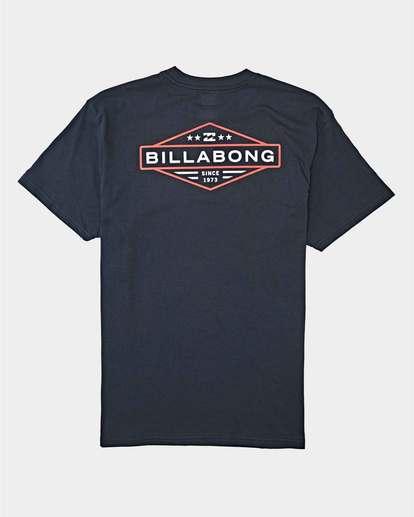 1 Autoshop Short Sleeve T-Shirt Blue 9504093 Billabong