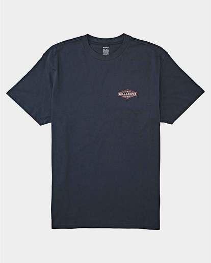 0 Autoshop Short Sleeve T-Shirt Blue 9504093 Billabong