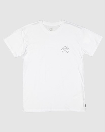 6 Aus Arch Short Sleeve Tee White 9504101 Billabong