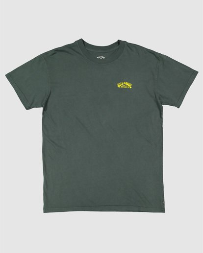 4 No Frills Short Sleeve Tee Green 9504104 Billabong
