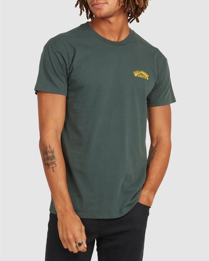 0 No Frills Short Sleeve Tee Green 9504104 Billabong