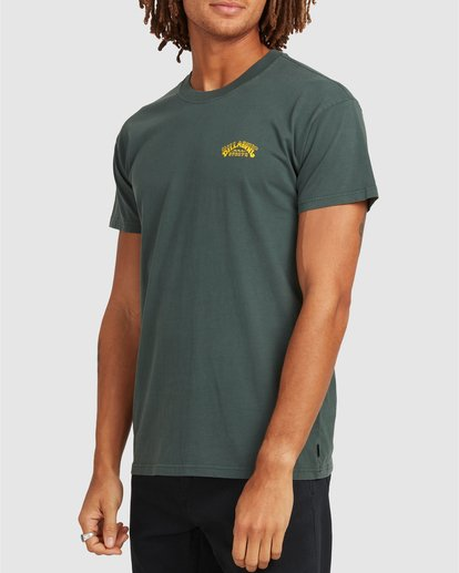 1 No Frills Short Sleeve Tee Green 9504104 Billabong