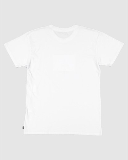 1 Road Stop Short Sleeve Tee White 9504105 Billabong