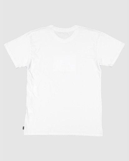 5 Road Stop Short Sleeve Tee White 9504105 Billabong
