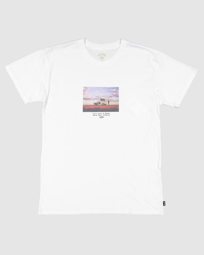 0 Road Stop Short Sleeve Tee White 9504105 Billabong