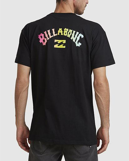 2 Arch Fade Tee Black 9504106 Billabong