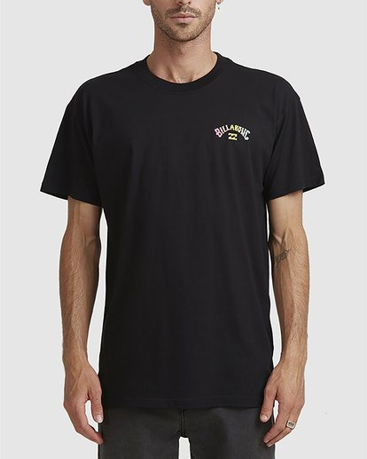 0 Arch Fade Tee Black 9504106 Billabong