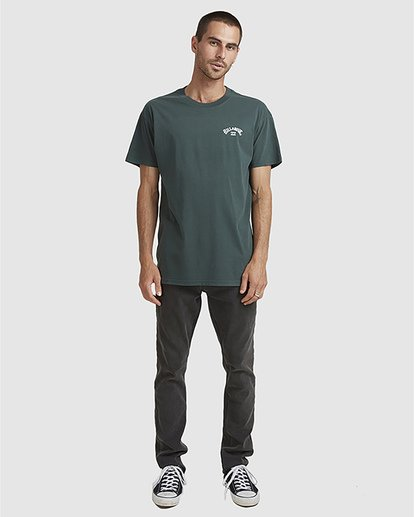 5 Wave Arch Tee Green 9504107 Billabong
