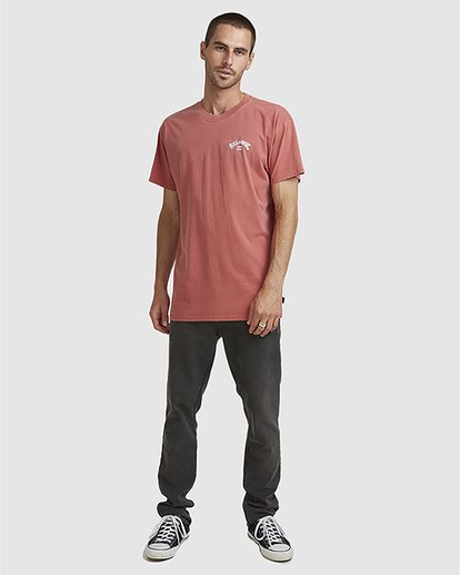 5 Wave Arch Tee Brown 9504107 Billabong
