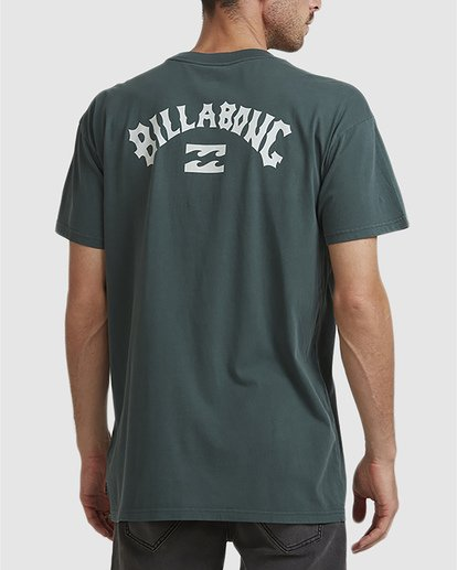 2 Wave Arch Tee Green 9504107 Billabong