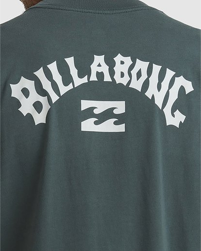 4 Wave Arch Tee Green 9504107 Billabong