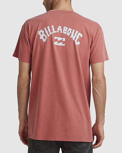2 Wave Arch Tee Brown 9504107 Billabong