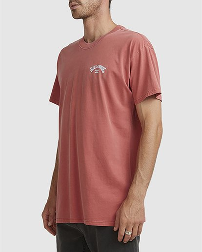 1 Wave Arch Tee Brown 9504107 Billabong