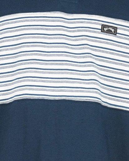 4 Banded Die Cut Polo Blue 9504140 Billabong