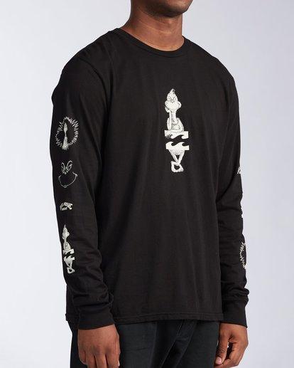 2 Grinchmas Vacation Long Sleeve T-Shirt Black 9504192 Billabong