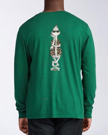 2 Vacay Grinch Long Sleeve T-Shirt Green 9504194 Billabong
