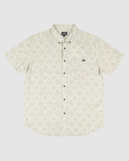 5 Sundays Mini Short Sleeve Shirt Beige 9504202 Billabong