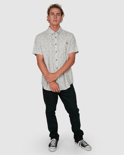 7 Sundays Mini Short Sleeve Shirt Beige 9504202 Billabong