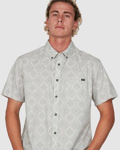 3 Sundays Mini Short Sleeve Shirt Beige 9504202 Billabong