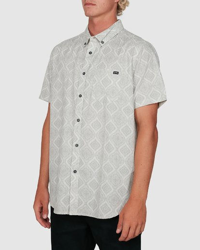 1 Sundays Mini Short Sleeve Shirt Beige 9504202 Billabong