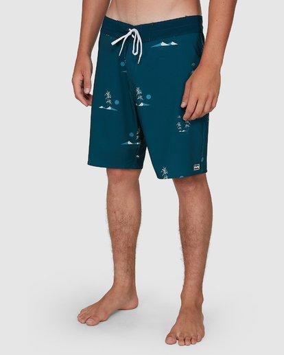 9 Sundays Mini Pro Boardshorts Blue 9504409 Billabong