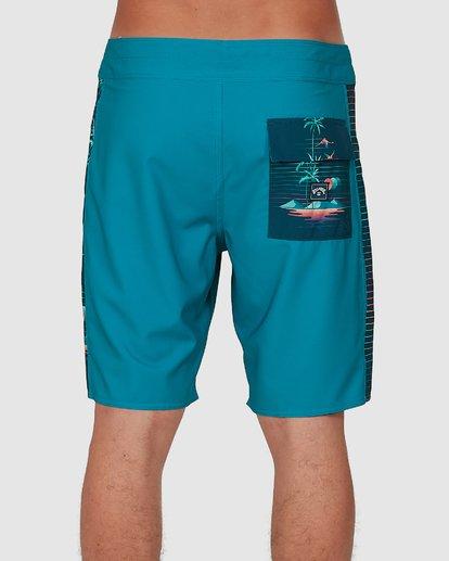 4 D Bah Pro Boardshorts Blue 9504414 Billabong