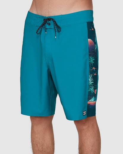 3 D Bah Pro Boardshorts Blue 9504414 Billabong