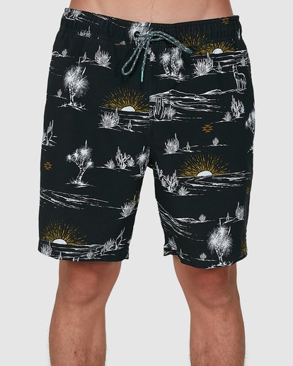 2 Sundays Layback Boardshorts Grey 9504424 Billabong