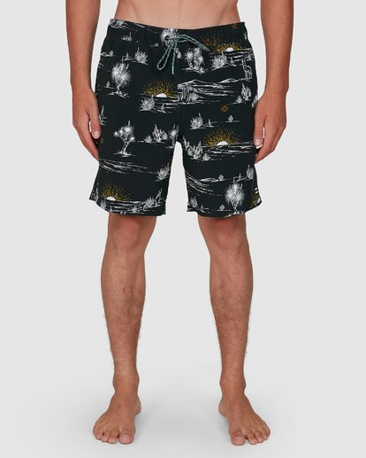 8 Sundays Layback Boardshorts Grey 9504424 Billabong
