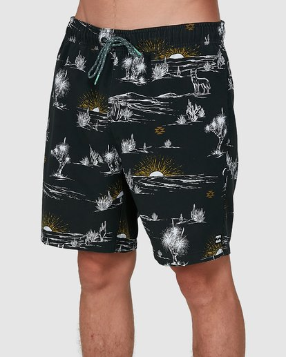 3 Sundays Layback Boardshorts Grey 9504424 Billabong