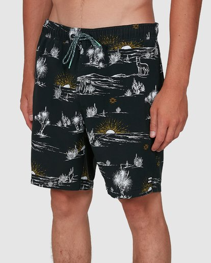 6 Sundays Layback Boardshorts Grey 9504424 Billabong