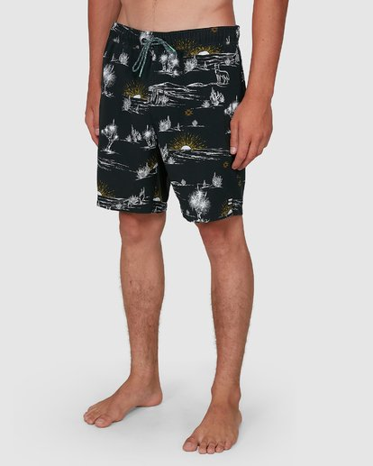 9 Sundays Layback Boardshorts Grey 9504424 Billabong