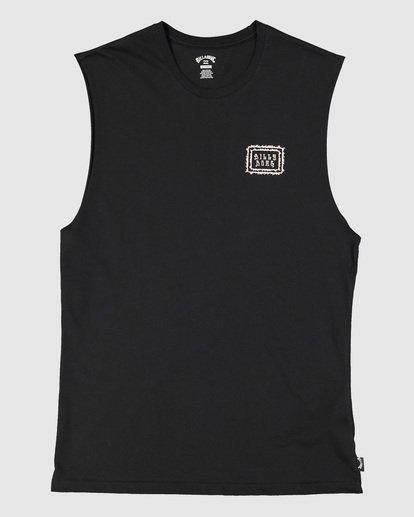 5 Holy Smokes Muscle Tank Black 9504509 Billabong