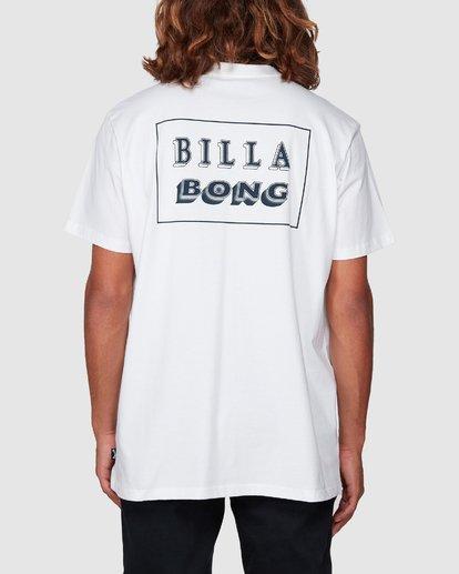 2 Bong Cut Tee White 9507000 Billabong