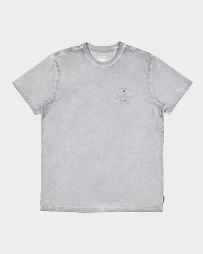5 Wavy Davy Short Sleeve Tee Grey 9507001 Billabong