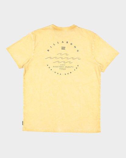6 Wavy Davy Short Sleeve Tee Yellow 9507001 Billabong