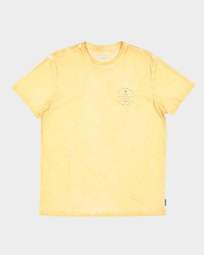 5 Wavy Davy Short Sleeve Tee Yellow 9507001 Billabong