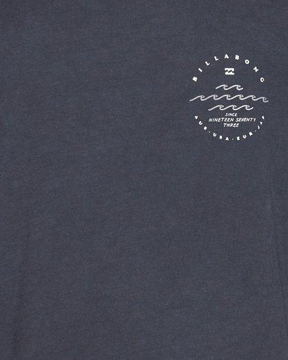4 Wavy Davy Short Sleeve Tee Black 9507001 Billabong