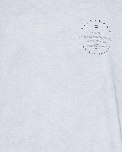 4 Wavy Davy Short Sleeve Tee Grey 9507001 Billabong