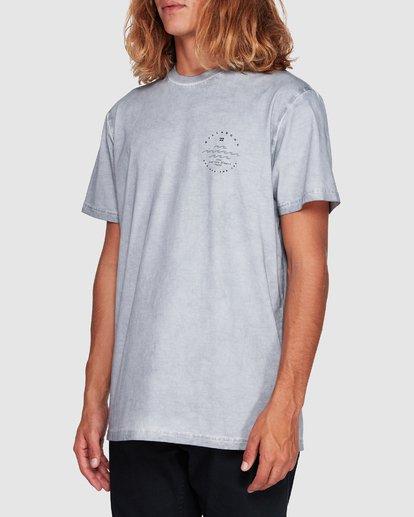 1 Wavy Davy Short Sleeve Tee Grey 9507001 Billabong