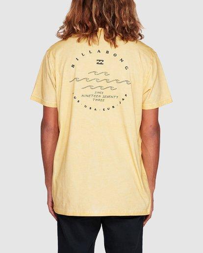 2 Wavy Davy Short Sleeve Tee Yellow 9507001 Billabong