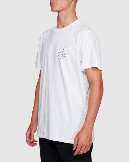 2 Wavy Davy Short Sleeve Tee White 9507001 Billabong