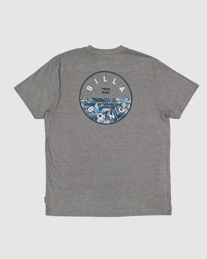 6 Rotor Tee Grey 9507002 Billabong