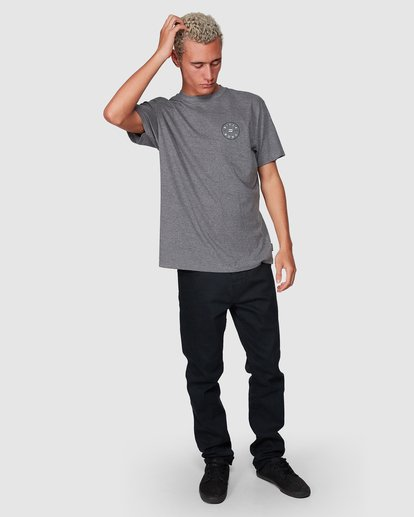 7 Rotor Tee Grey 9507002 Billabong