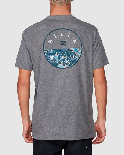 2 Rotor Tee Grey 9507002 Billabong