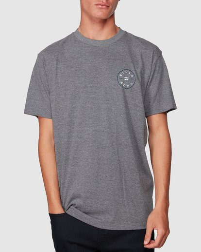 3 Rotor Tee Grey 9507002 Billabong
