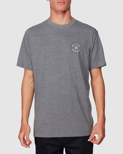 0 Rotor Tee Grey 9507002 Billabong