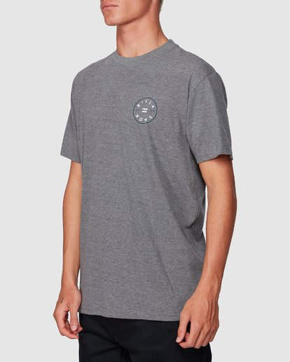 1 Rotor Tee Grey 9507002 Billabong