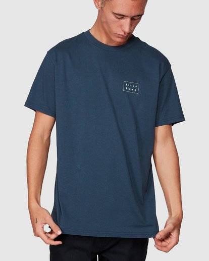 3 Die Cut Tee Blue 9507003 Billabong
