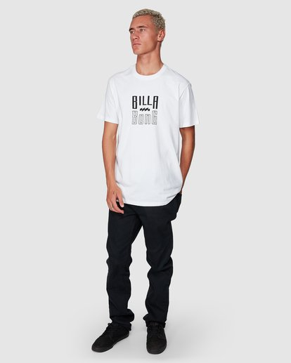 6 Thousand Stack Tee White 9507015 Billabong
